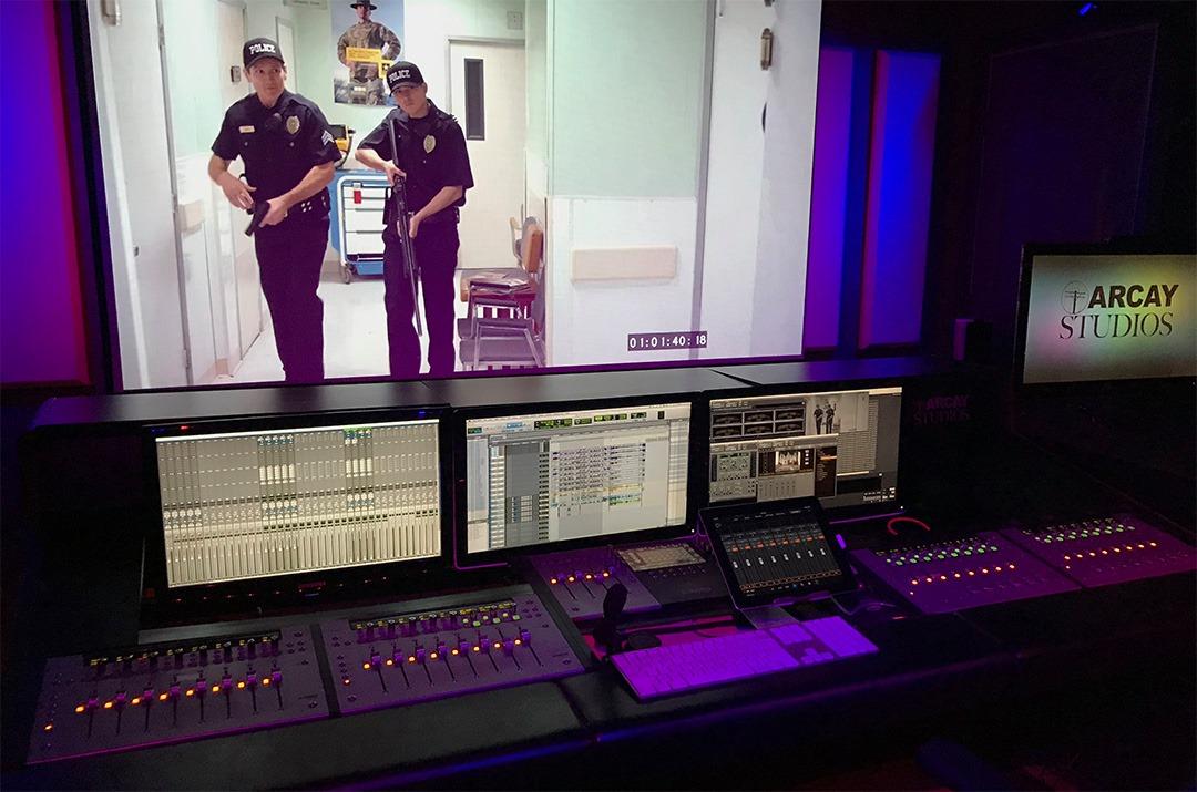 Arcay Studios Mix Room