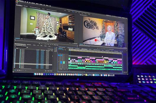 Arcay Studios Editing Workstation